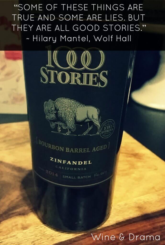 1000 stories zinfandel wine review