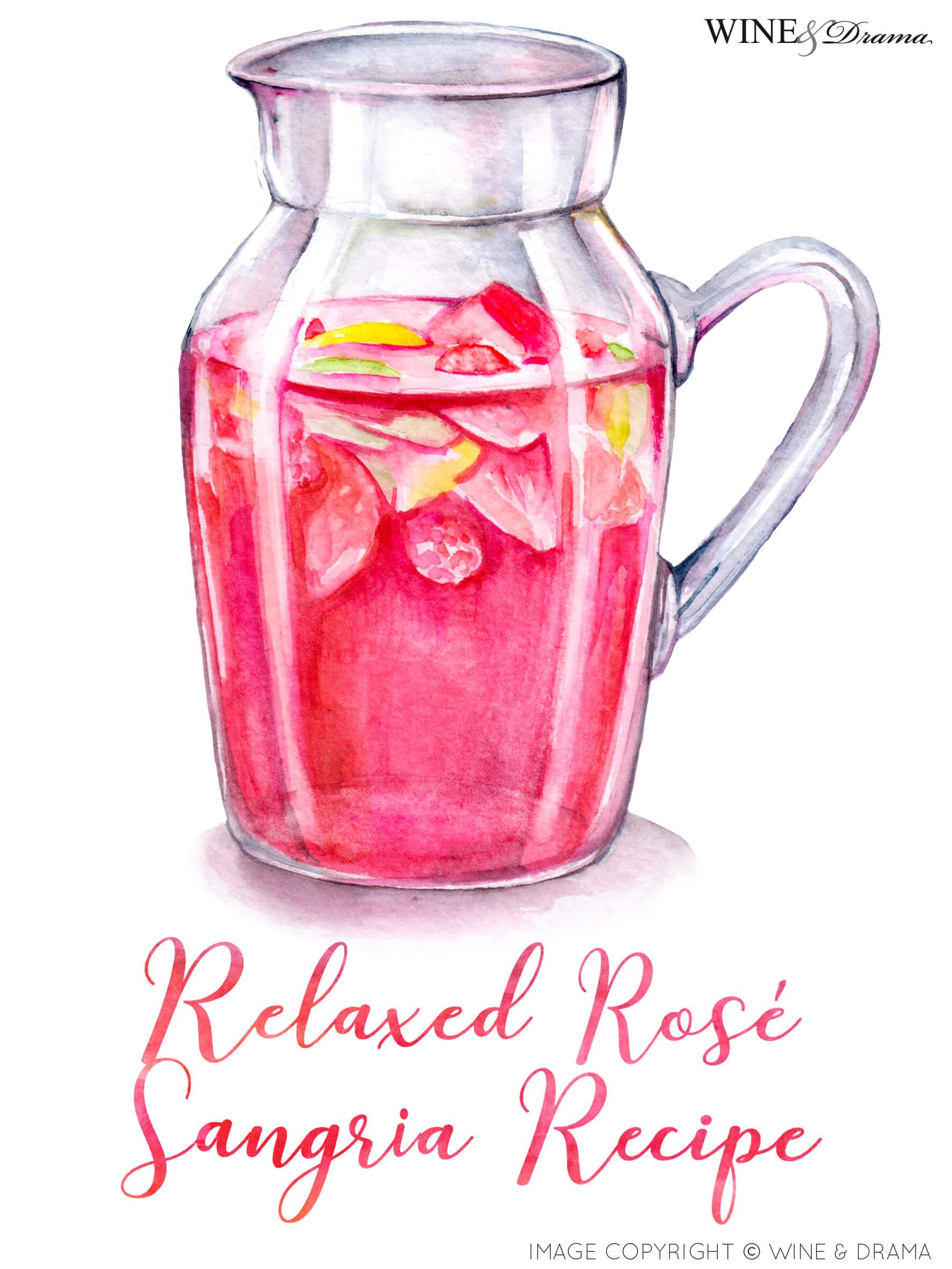 Relaxed Rosé Sangria Recipe