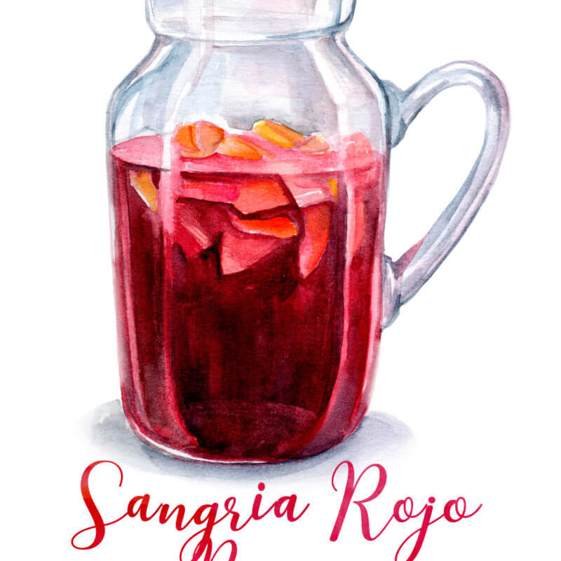 Sangria Rojo | Red Wine Sangria Recipe