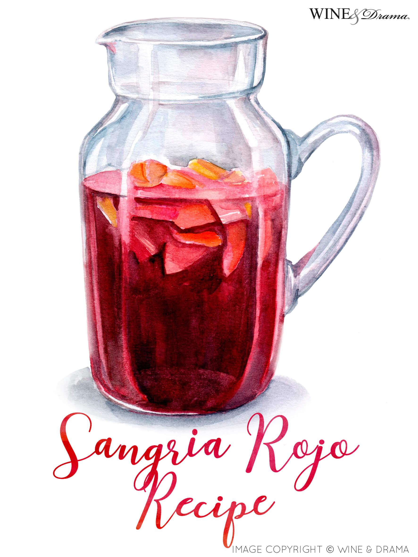 Sangria Rojo Red Wine Sangria Recipe