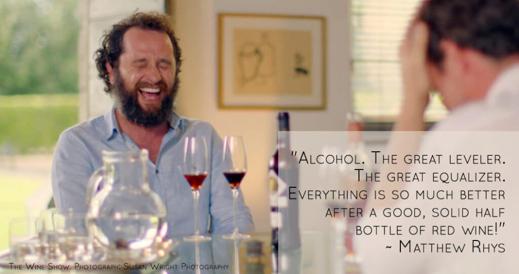 Matthew Rhys the Wine Show Review
