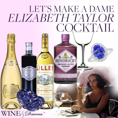 The Violet Eyed Icon – Let's Make a Dame Elizabeth Taylor Cocktail